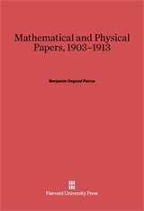 Cover: Mathematical and Physical Papers, 1903–1913