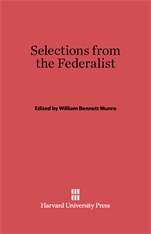 Cover: Selections from the Federalist