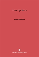 Cover: Inscriptions