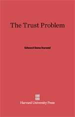 Cover: The Trust Problem in E-DITION
