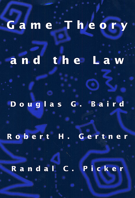 Cover: Game Theory and the Law, from Harvard University Press
