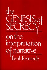 Cover: The Genesis of Secrecy: On the Interpretation of Narrative