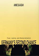 Cover: Germany's Second Chance: Trust, Justice, and Democratization