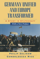 Cover: Germany Unified and Europe Transformed: A Study in Statecraft