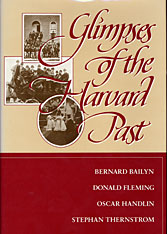 Cover: Glimpses of the Harvard Past in PAPERBACK
