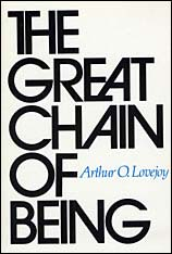 Cover: The Great Chain of Being: A Study of the History of an Idea
