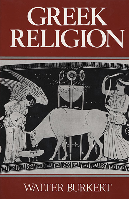 Cover: Greek Religion, from Harvard University Press