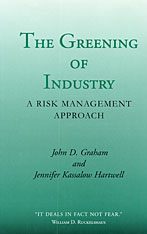 Cover: The Greening of Industry in HARDCOVER