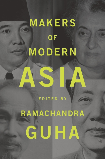 Cover: Makers of Modern Asia, from Harvard University Press
