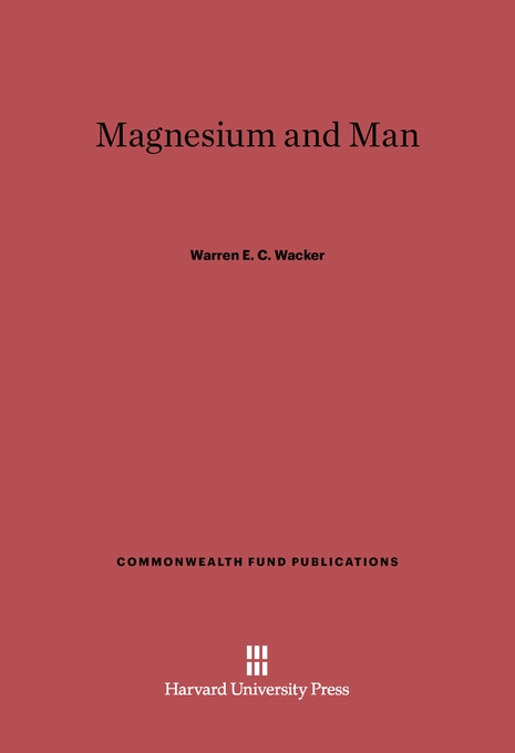 Cover: Magnesium and Man, from Harvard University Press