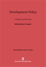 Cover: Development Policy, I: Theory and Practice