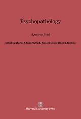 Cover: Psychopathology: A Source Book