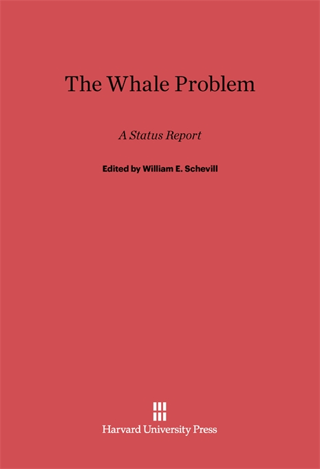 Cover: The Whale Problem: A Status Report, from Harvard University Press