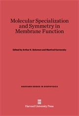 Cover: Molecular Specialization and Symmetry in Membrane Function