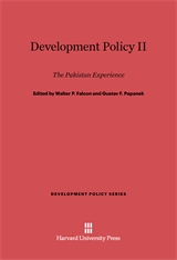 Cover: Development Policy, II: The Pakistan Experience