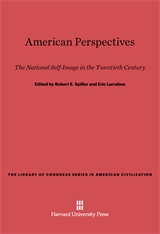 Cover: American Perspectives: The National Self-Image in the Twentieth Century