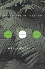 Cover: Expressions of Judgment: An Essay on Kant's Aesthetics