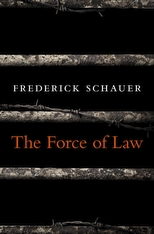 Cover: The Force of Law in HARDCOVER