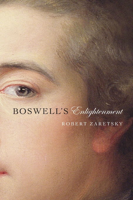 Cover: Boswell's Enlightenment, from Harvard University Press