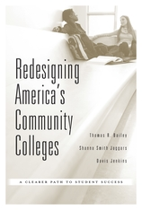 Cover: Redesigning America's Community Colleges in HARDCOVER