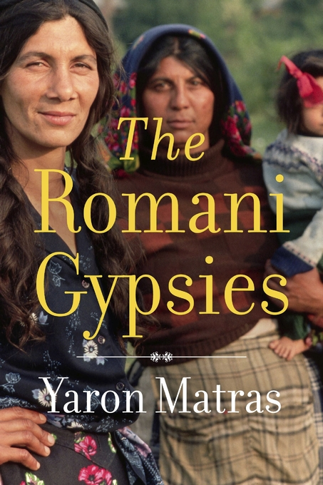 Cover: The Romani Gypsies, from Harvard University Press