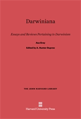Cover: Darwiniana: Essays and Reviews Pertaining to Darwinism