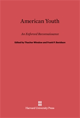 Cover: American Youth, An Enforced Reconnaissance in E-DITION
