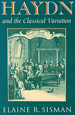 Cover: Haydn and the Classical Variation in HARDCOVER