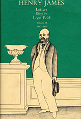 Cover: The Letters of Henry James, Volume III: 1883-1895 in HARDCOVER