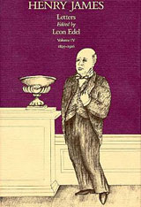 Cover: The Letters of Henry James, Volume IV: 1895–1916 in HARDCOVER