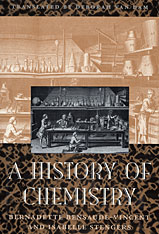 Cover: A History of Chemistry