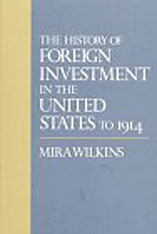 Cover: The History of Foreign Investment in the United States to 1914