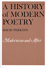 Cover: A History of Modern Poetry, Volume II: Modernism and After in PAPERBACK