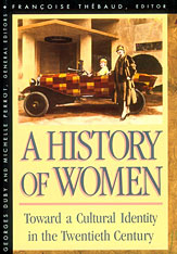 Cover: History of Women in the West, Volume V: Toward a Cultural Identity in the Twentieth Century in PAPERBACK