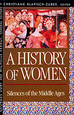 Cover: History of Women in the West, Volume II: Silences of the Middle Ages in PAPERBACK