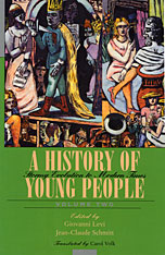 Cover: A History of Young People in the West, Volume II: Stormy Evolution to Modern Times