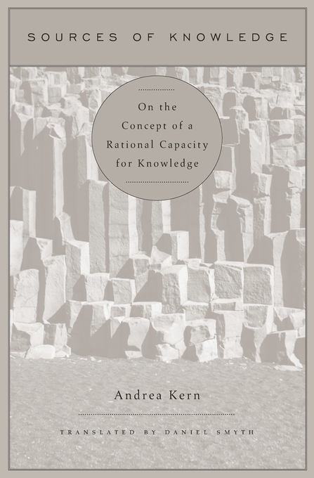 Cover: Sources of Knowledge: On the Concept of a Rational Capacity for Knowledge, from Harvard University Press