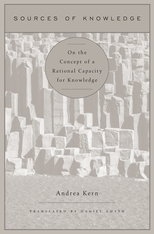 Cover: Sources of Knowledge: On the Concept of a Rational Capacity for Knowledge