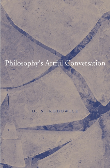 Cover: Philosophy's Artful Conversation, from Harvard University Press