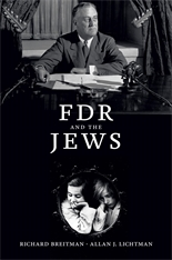 Cover: FDR and the Jews, by Richard Breitman and Allan J. Lichtman, from Harvard University Press