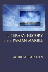 Cover: Literary History in the Parian Marble in PAPERBACK