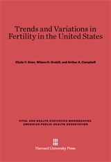 Cover: Trends and Variations in Fertility in the United States