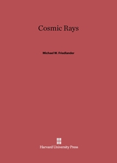 Cover: Cosmic Rays