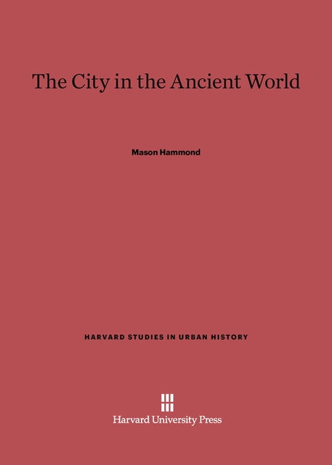 Cover: The City in the Ancient World, from Harvard University Press