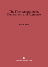 Cover: The First Amendment, Democracy, and Romance