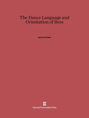 Cover: The Dance Language and Orientation of Bees in E-DITION