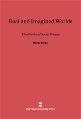 Cover: Real and Imagined Worlds: The Novel and Social Science