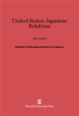 Cover: United States-Japanese Relations: The 1970s