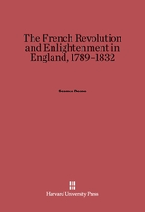 Cover: The French Revolution and Enlightenment in England, 1789–1832 in E-DITION