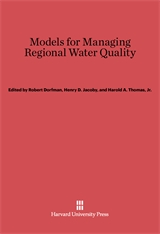 Cover: Models for Managing Regional Water Quality